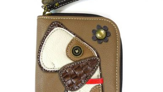 Toffey Dog - Brown- Zip Around Wallet