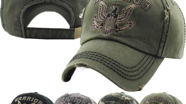 Warrior Eagle Vintage Ballcap