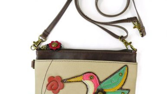 HUMMINGBIRD - MINI CROSSBODY -IVORY