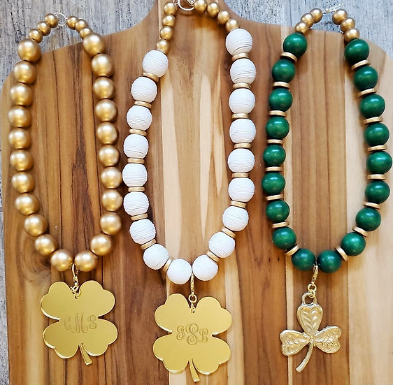 Lucky charm ( Necklace and earring set)
