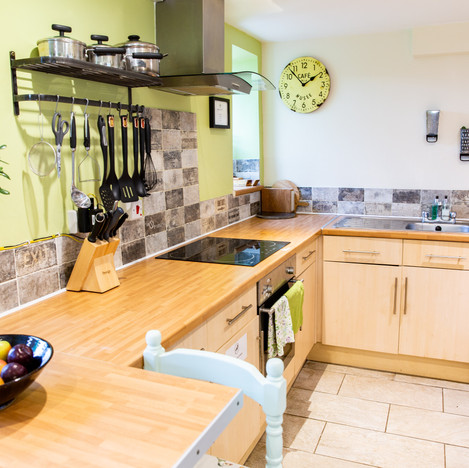 Holiday Home Fishguard Wales Self containted Kitchen