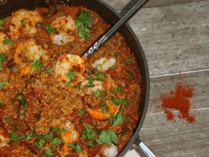 Creole Shrimp Jambalaya