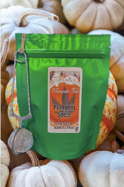 CBD Infused Tea : Pumpkin Spice