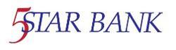 5 star bank logo
