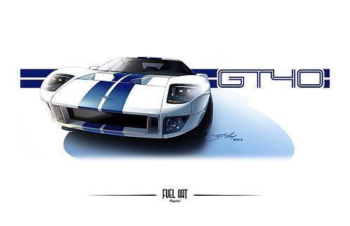 2004 Ford GT Digital Rendering