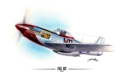 P-51 Mustang Marker Rendering
