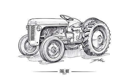 1951 Harry Ferguson TO-30 Sketch