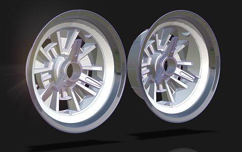 CAD Concept Wheel Autodesk Alias Model