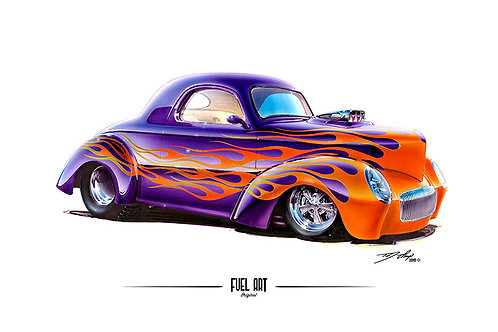 Willys Coupe Hot Rod