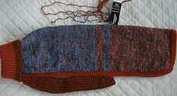 coat 832in blue and rust aran with mohair.JPG