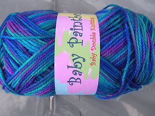 fancy yarns available for dog coats