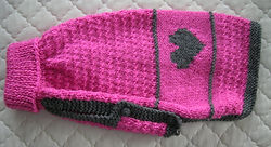 medium dog coat 813 in pink with heart.JPG
