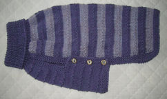 medium dog coat in mauve stripest 816.JPG