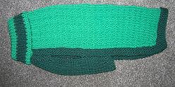 meduim dog coat in 2 tone jade