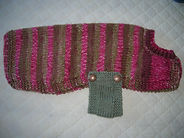large dog coat in pink