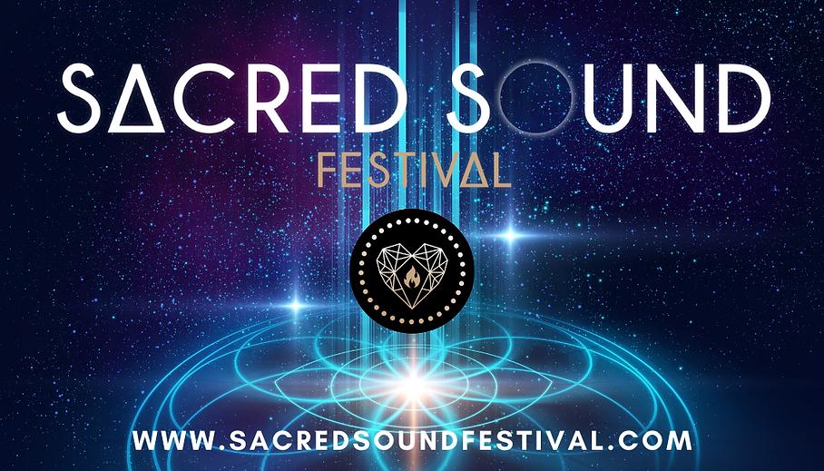 Sacred Sound Festival Banner
