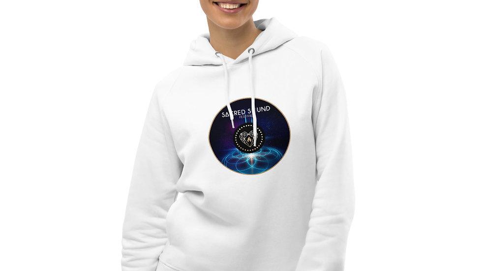 """""""Cosmic Geometry"""" Unisex pullover hoodie"""