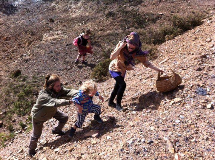 Facebook - Climbing on the family land