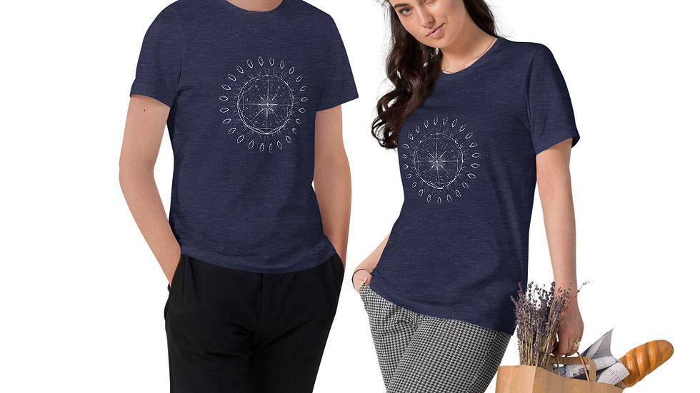 """Sound Mandala"" Unisex Organic Cotton T-Shirt"