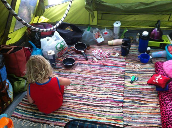 Facebook - Tent life