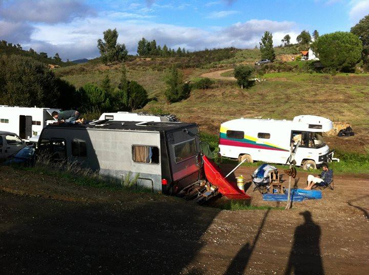 Facebook - Campervan parking