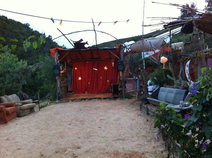 Facebook - Stage area
