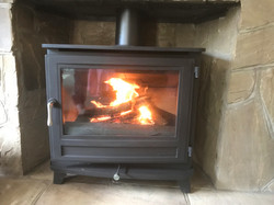 Stove Install - Mike