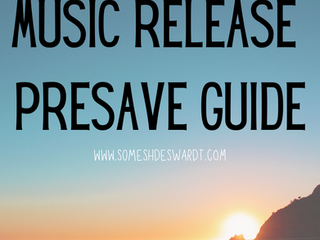 Music Release Pre Save Guide - Everything Your Need To Know