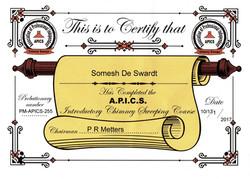 APICS Certificate