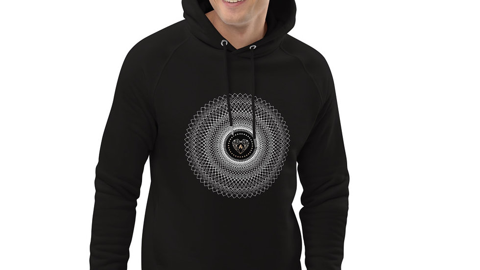"""""""The Sound of the Sacred Heart"""" Unisex pullover hoodie"""