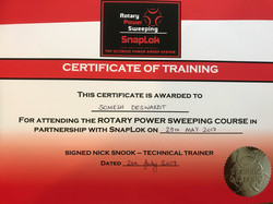 Snaplock Training Certificate