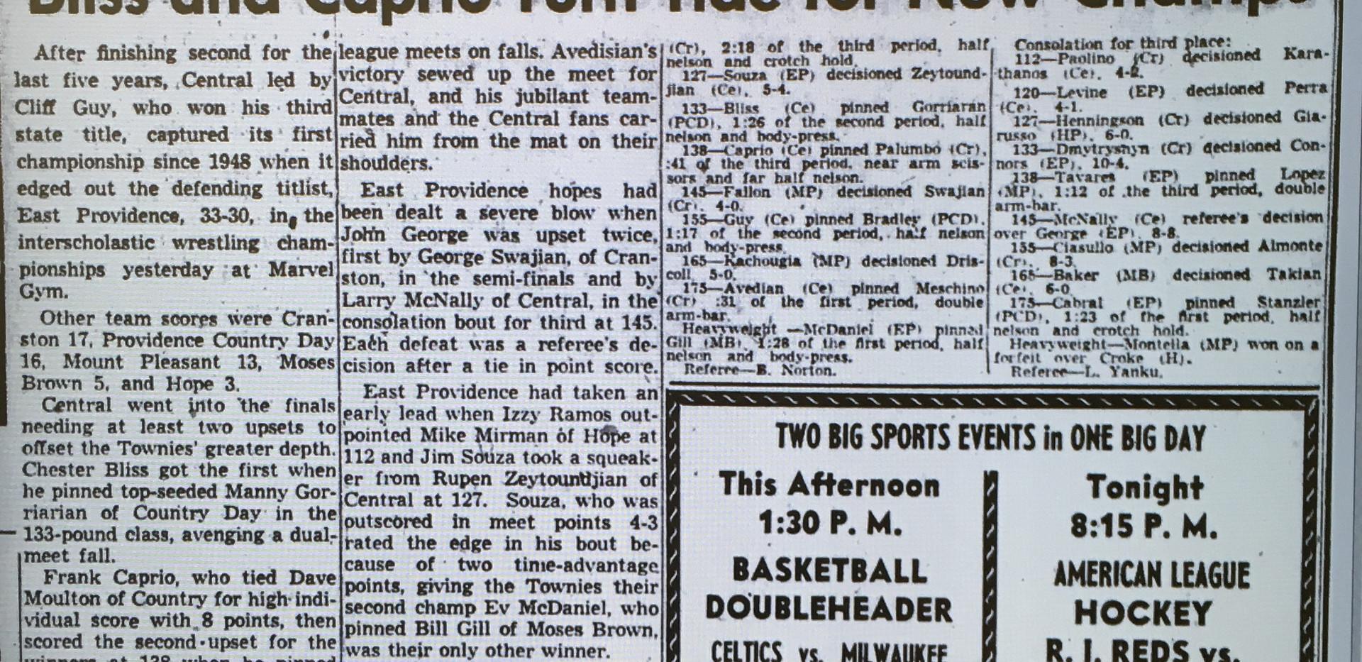 1954 State Tournament