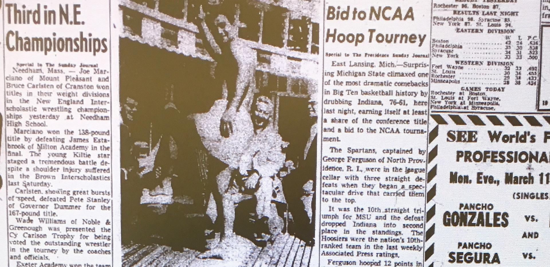 1957 New England Tournament