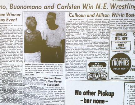 1958 New England Tournament