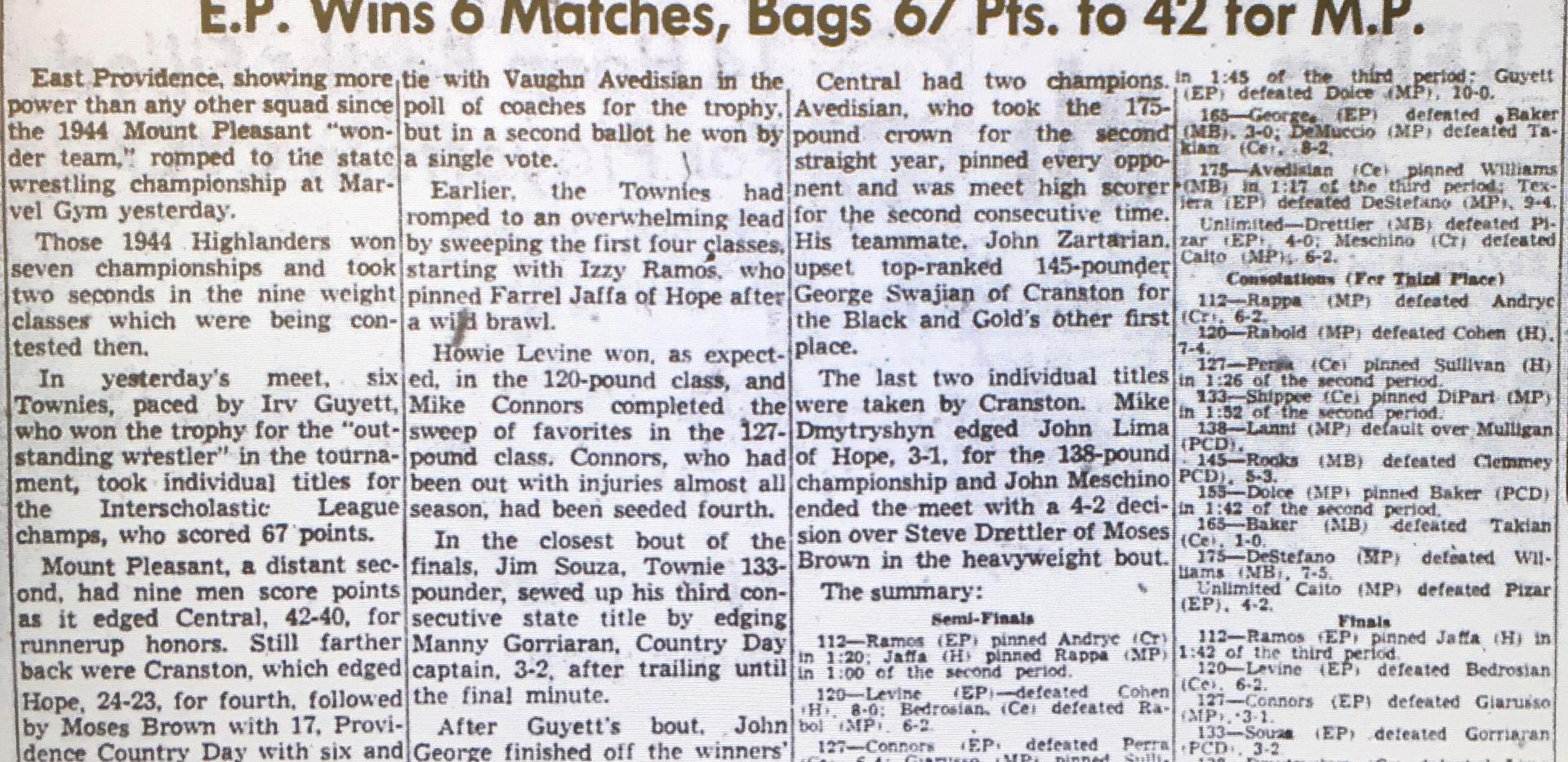 1955 State Tournament