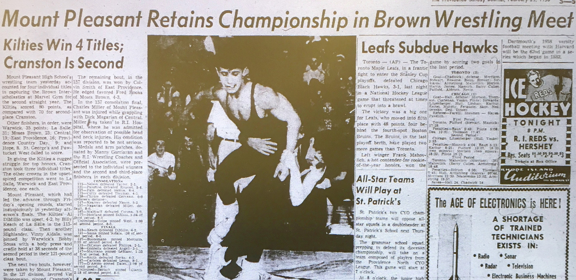 1958 State Tournament
