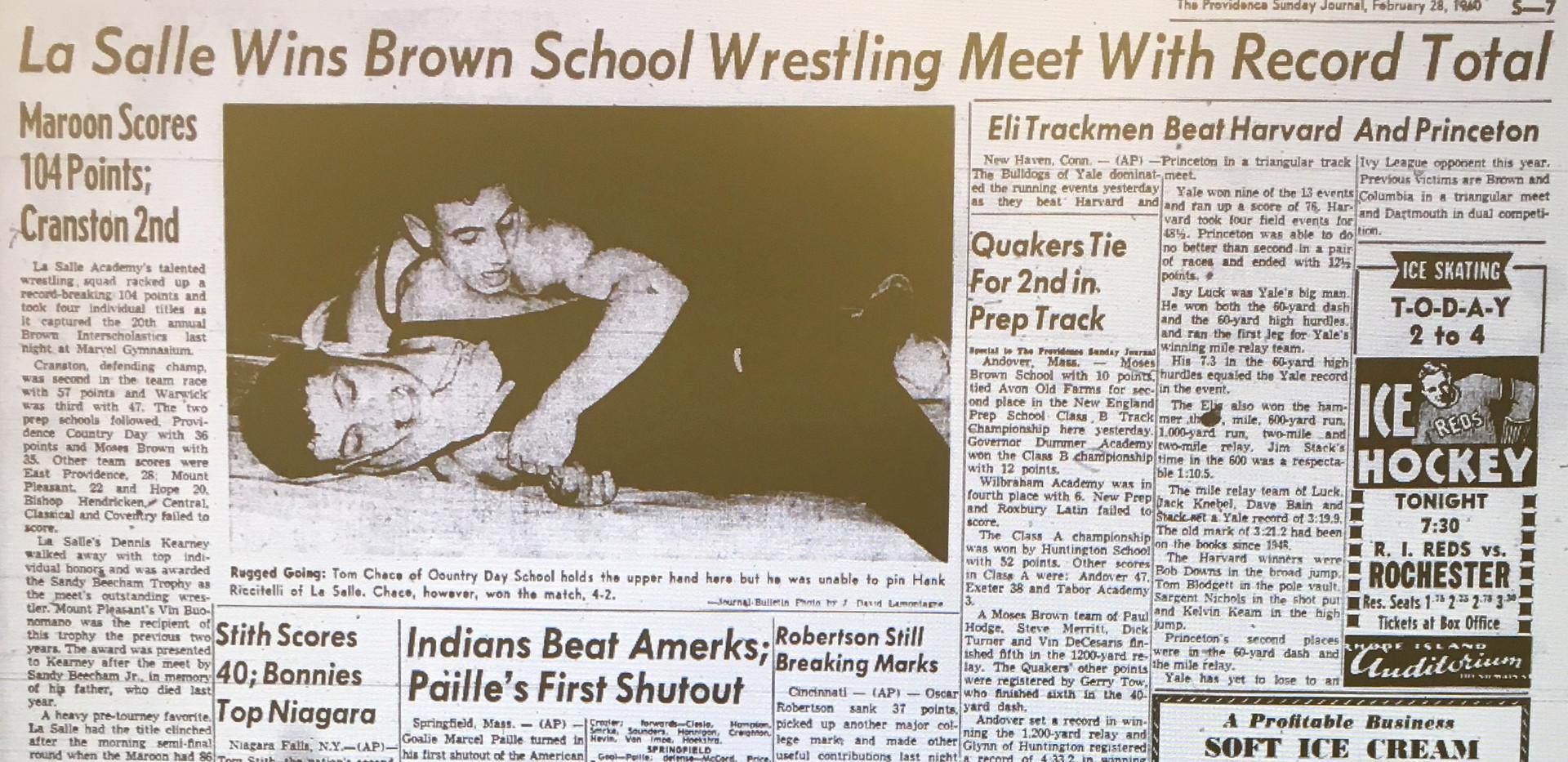 1960 State Tournament