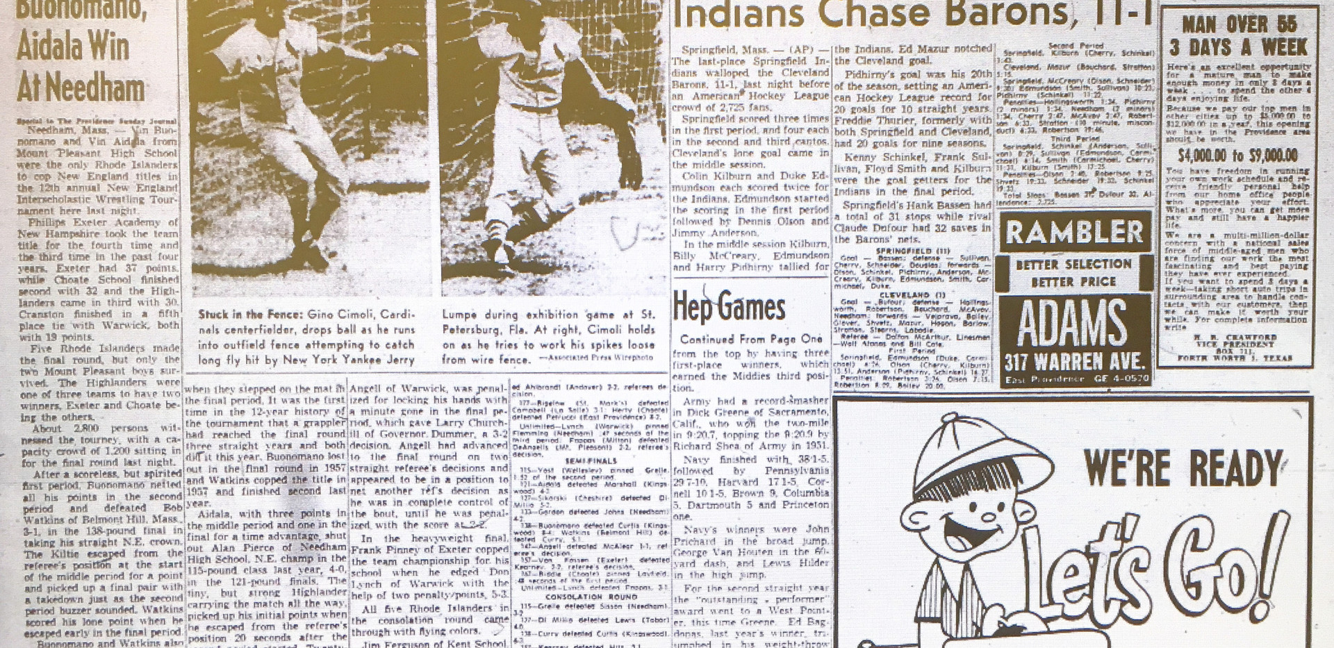 1959 New England Tournament