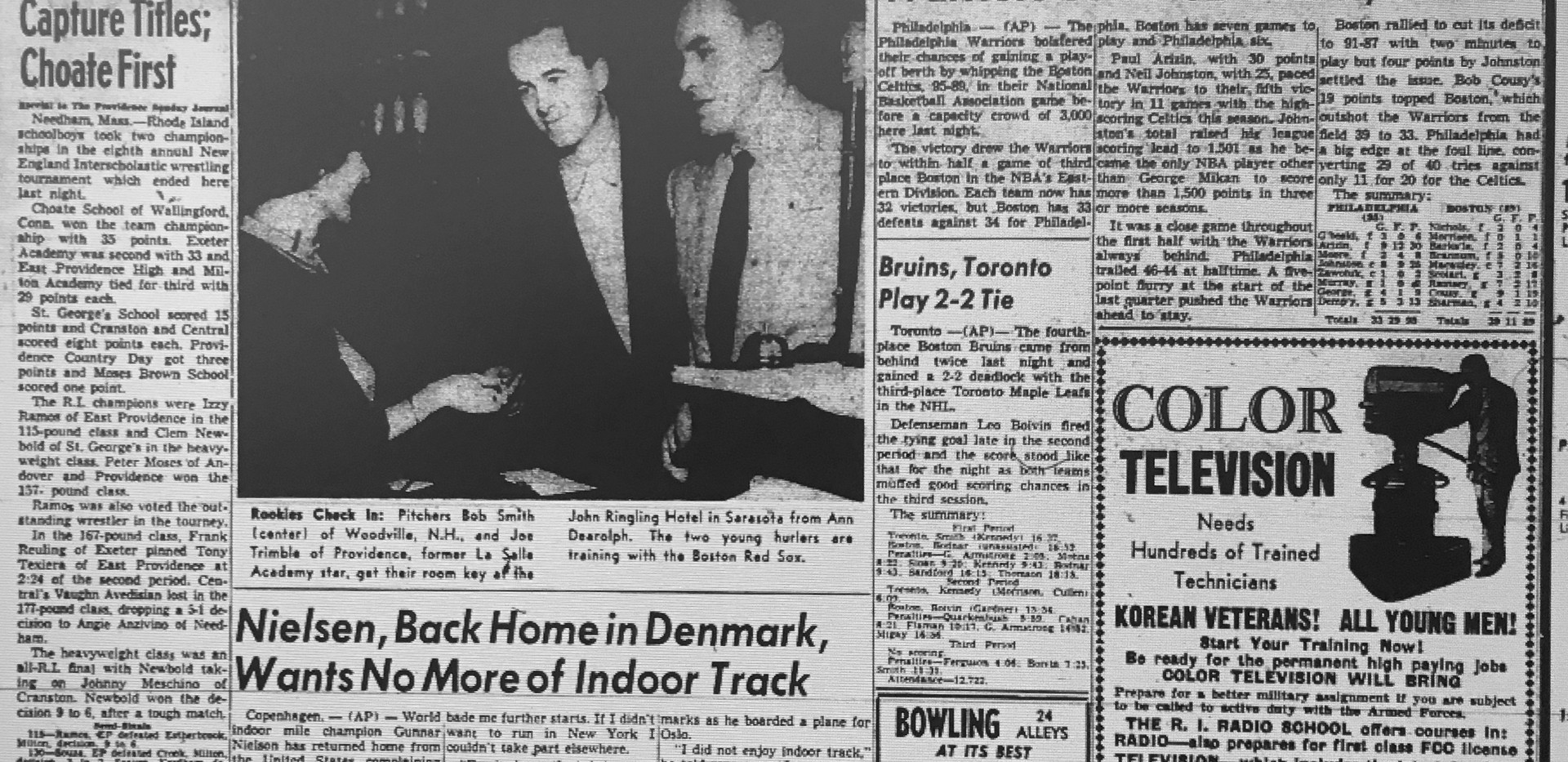 1955 New England Tournament