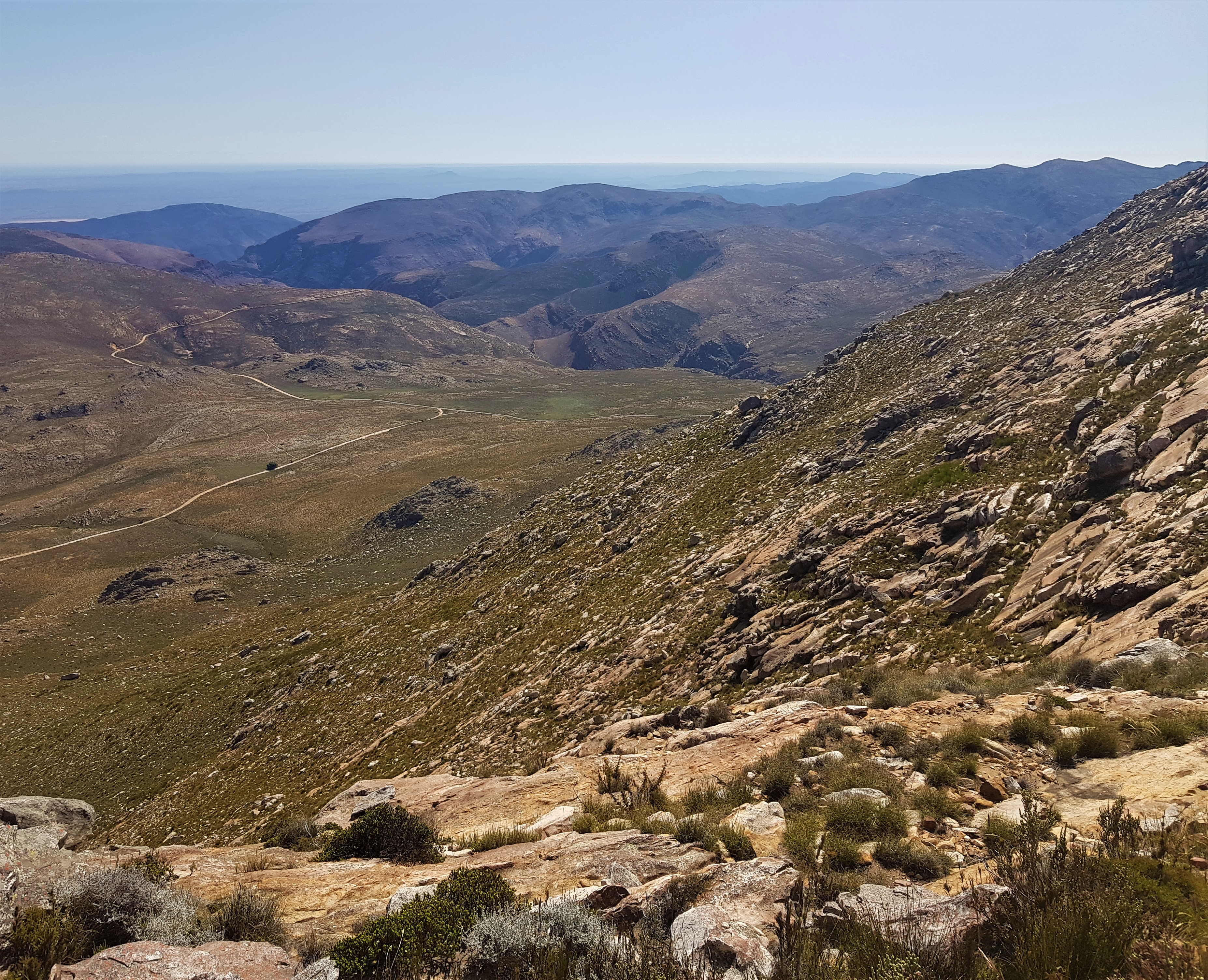 Swartberg Hike_View from above