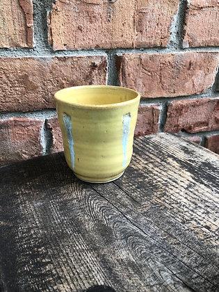 Tumbler, Yellow w/ Glass RUns