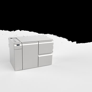 Tiefkühlkorpus 2 x GN 1/1, zentralgekühlt