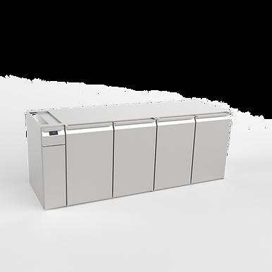 Tiefkühlkorpus 4 x GN 1/1, zentralgekühlt