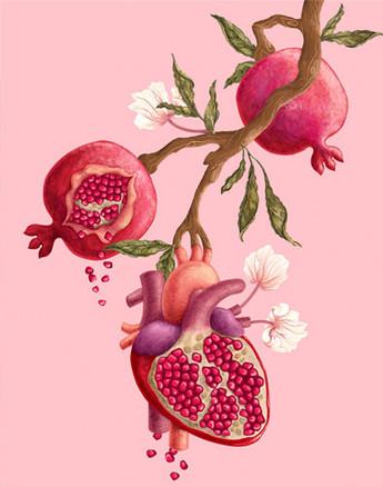 Pomegranate Heart Tree 2020