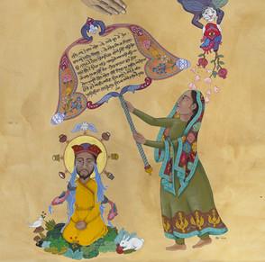 Bibi Nanki Protects Guru Nanak