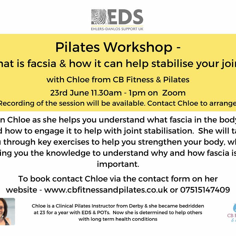 Ehlers Danlos Syndrome workshop (free)