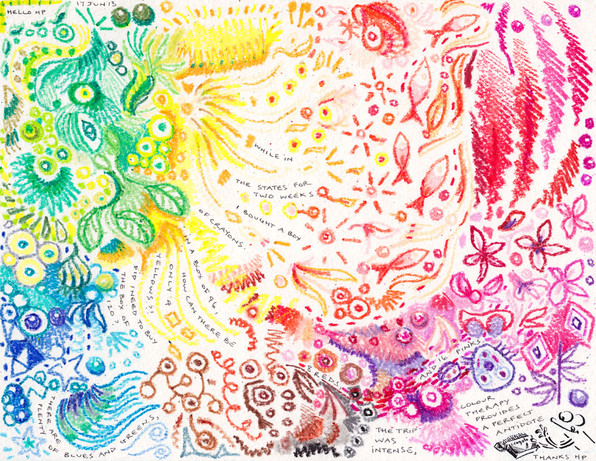 6.18.13 Crayon Therapy