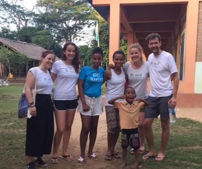 The Boky Mamiko volunteers are back in Djangoa!