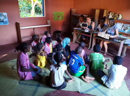 Days 9-15 in Djangoa: Progresses in the library and after-school sessions