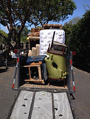 When we haul away junk, we play tetris with your unwanted furniture!